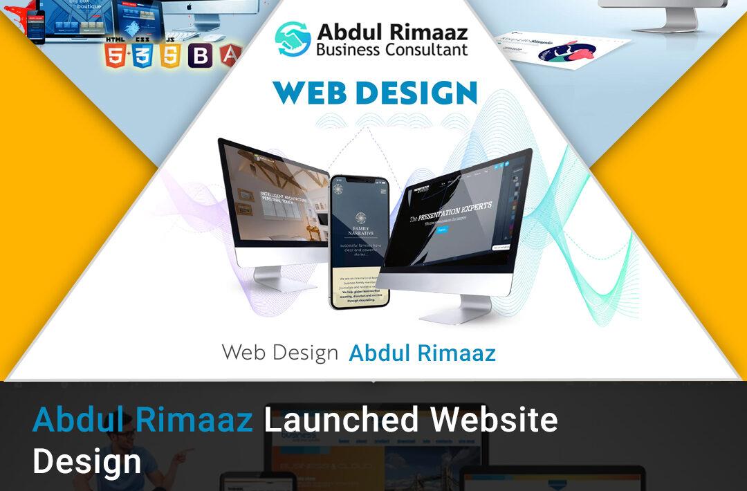 Abdul Rimaaz Web design